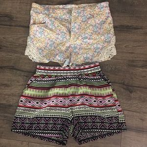 Other - A set of 2 girls shorts